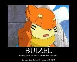 Buizel Motivational Poster