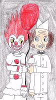 Pennywise And Gregory by sydneypie