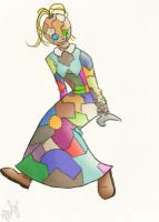 Patchwork Girl by Shambience