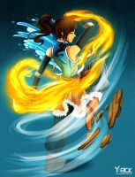 Dance Of The Elements - The Legend Of Korra by YarickArt
