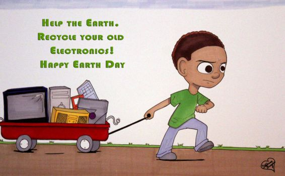 Earth Day by StephanieNicole1002