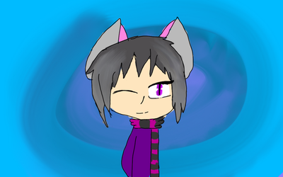 Finished Ender girl human version. by XxFluffxXlol