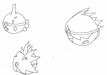 Pokeball pokedex 255 256 257 by Names-Tailz