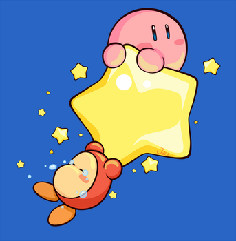 Kirby T-shirt Design by Lucky-Jacky