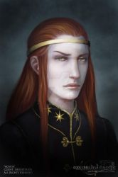 Character Portrait - Acacia by MelissaFindley