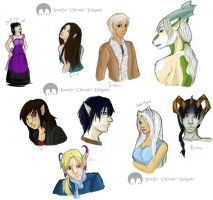 Character Dump by Onivale