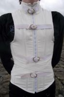 Men's Straight Jacket Corset, Front by Vic-Dustrael