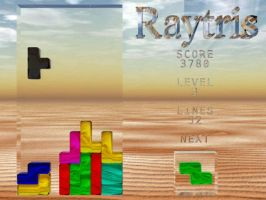 Raytris by Pitel