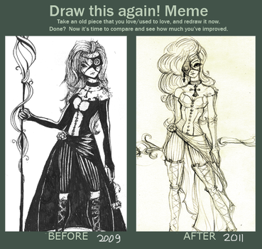 Before-After Meme: Black Calla by costa-geablader