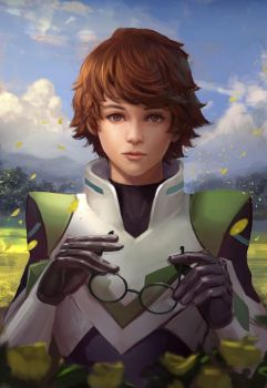 voltron Pidge Fan art by andyliongart