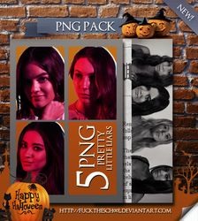 Pretty  Little Liars Png Pack by Fuckthesch00l
