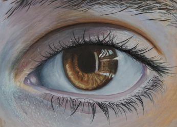 Brown Eyed Girl - Copics by 6re9