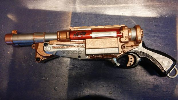 Steampunk Nerf: Barrel Break 1 by Vladium