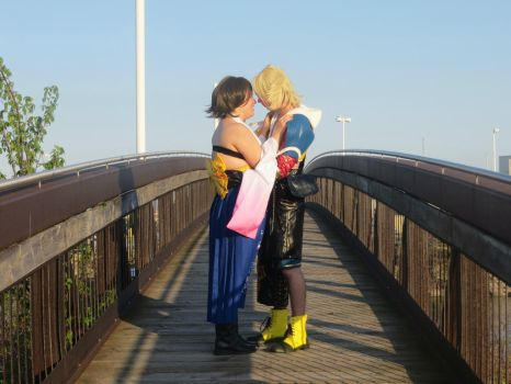 Tidus and Yuna - look into your eyes by Vamp-Wolf-Everdain