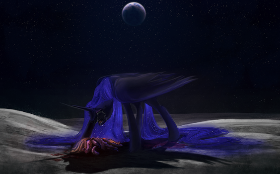 My Night Will Last Forever by CosmicUnicorn