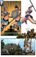 Battlefield Giantess by giantess-fan-comics