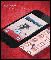 Romeow (Casual Game Design) by demm9000