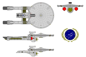 Mercury-class (Reconnisance/Per. Action Frigate) by daviddye