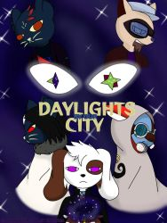 Daylights By Our City (Cover and Poster) by Skyshazer