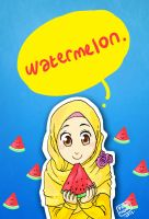 watermelon by yusufcolors