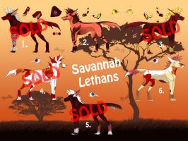 Savannah Lethan Adoptables #2 (OPEN) by MoscoMoon