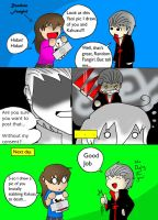 Comic: Hidan Vs Fangirl by KenshinTehChibi