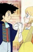 Ash and Serena Beauty and the beast Remake by PrincesseSerena
