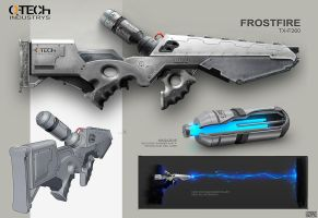 Frostfire Weapon Concept Rolf Bertz by Rofelrolf
