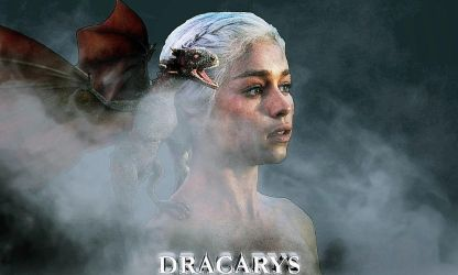 Game of Thrones -Daenerys Targaryen Wallpaper Edit by rocklovingwolf100