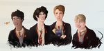 The Marauders teens by JR-Style