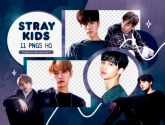 PNG PACK: Stray Kids #3 (I am Not) by Hallyumi