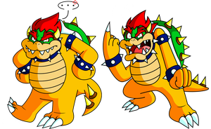 Big Bad Bowser by JamesmanTheRegenold
