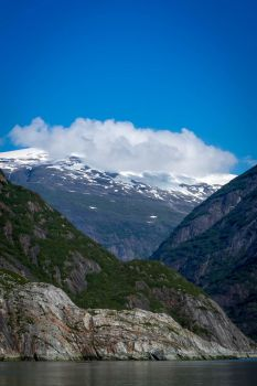 On the way to Sawyer Glacier (vertical) by Suzannesphotos