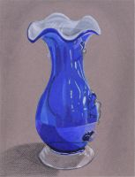 Blue Vase by Kozmalia