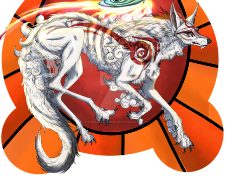 Okami: Rising Sun by ChemicallyAbsolute