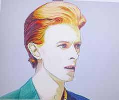 The Thin White Duke - David Bowie by JadeDownTheDrain