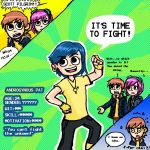 Androgynous Pat-The 8th Ex by autobotXBumbleBee