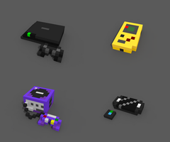 Staxel - Consoles by LeviaDraconia