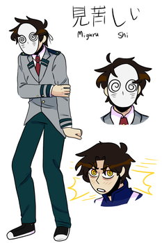 BNHA OC Ref 2 by boneless-water