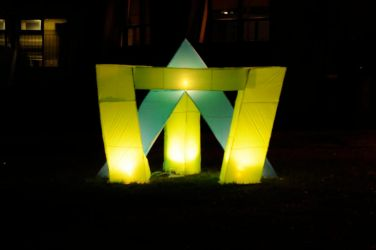 Sculpture lumineuse by Tibb-the-Artist