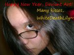 -:Happy New Year:- by WhiteDeathLily