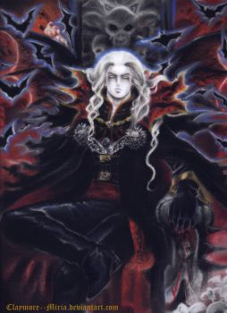 Alucard The prince of darkness by ClAyMoRe--MiRiA