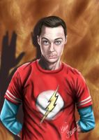 Sheldon Cooper by Sondim