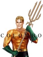 AQUAMAN POSE by supersebas