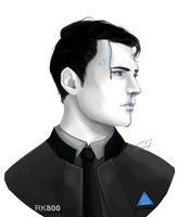 Connor portrait by The---Sound