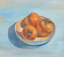 Persimmons by lazygirl-29
