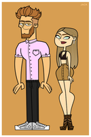 New Oc's: Mark x Lia by HeyBruhItsJack