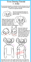 Toon Drawing Tutorial 2 - Upper Bodies by LightAnimaux