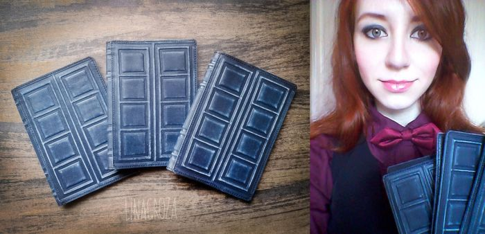 Passport cover - River Song's journal (Dr. Who) by GreatQueenLina