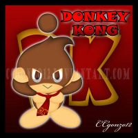 Donkey Kong Chao by CCmoonstar23